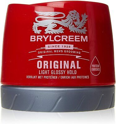 Brylcreem Original Light Glossy Hold Red Pot 150ml Mens Hair Styling Care • 5.99£