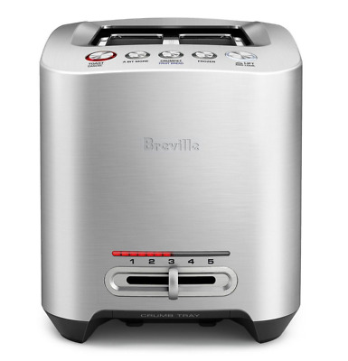 AU129 • Buy Breville The Smart Toast 2 Slice Toaster 825BSS