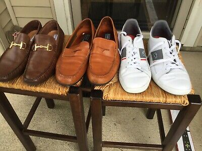 $ CDN106.78 • Buy Polo Ralph Lauren Shoes, Lacoste Sneaker And Steve Madden Shoes Size 13 Lot Of 3