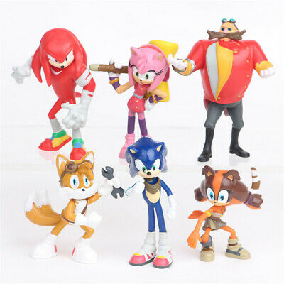 £8.99 • Buy Hot 6pcs Sonic The Hedgehog Action Figure PVC Game Toy Doll Set Cute Gift