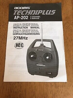 Acoms Techniplus AP-202 Manual Only • 4.99£
