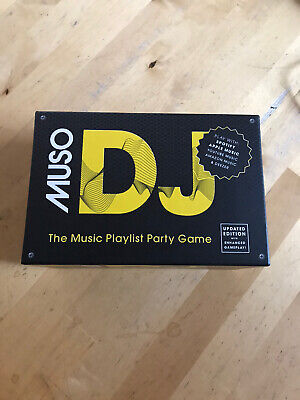 AU29.24 • Buy Muso Dj Game - Strategy Card Game - Updated Version - Spotify Apple Music - Bran