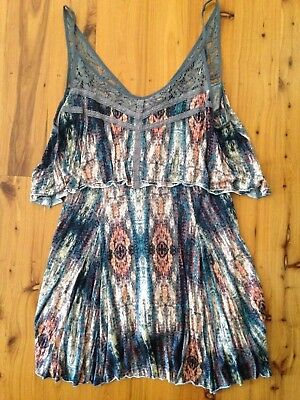 AU29 • Buy Ladies Fun Mini Dress From Ecote, Urban Outfitters.Size L