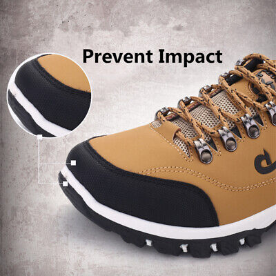 2020 Mens Hiking Boots New Walking Wide Fit Trail Trekking Trainers Shoes Size • 22.95£