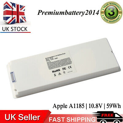 £17.99 • Buy 6 Cell Battery For Apple MacBook 13  2006 2007 2008 2009 A1185 A1181 MA561 MA699