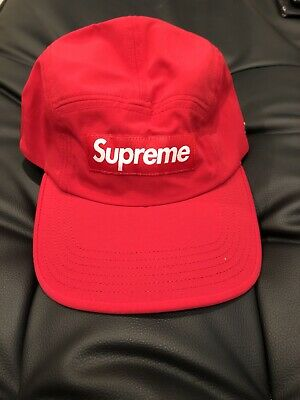 $ CDN116.78 • Buy Supreme Trail Camp Cap Red SS20