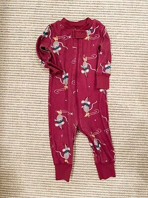 $5 • Buy Hanna Andersson 100% Organic Cotton Pajamas 60 Girls, 3-6 Months