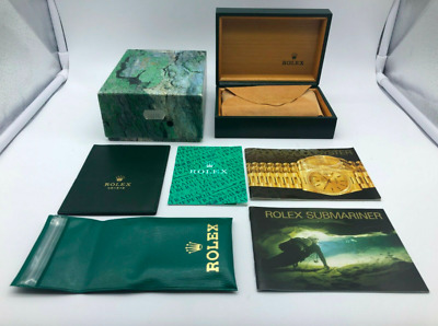 $ CDN209.76 • Buy VINTAGE GENUINE ROLEX Submariner 16610 Watch Box Case 68.00.02 Booklet 0108003#m