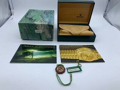 $ CDN128.98 • Buy VINTAGE GENUINE ROLEX  SUBMARINER 16613 Watch Box Case 68.00.71 Booklet 0506001m