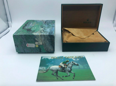 $ CDN122.87 • Buy VINTAGE GENUINE ROLEX Datejust 16233 Watch Box Case Booklet 68.00.08 0308006m
