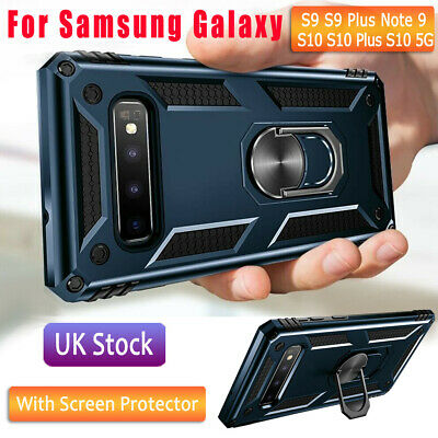 Shockproof Cover Ring Stand Case For Samsung Galaxy Note S9 10 Lite S10 Plus A71 • 5.58£
