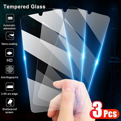 $0.99 • Buy 3Pcs For Xiaomi Mi 10 9 8 Lite 9T Pro A2 A3 Tempered Glass Screen Protector Film