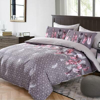 AU39 • Buy All Size Bed Ultra Soft Quilt Duvet Doona Cover Set Bedding Pillowcase Feathers