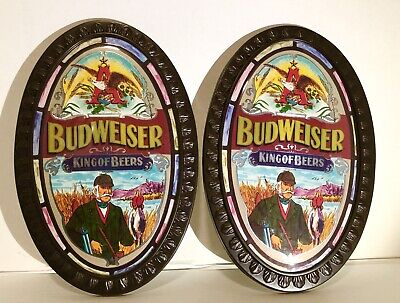 $ CDN90.82 • Buy RARE Vintage Budweiser King Of Beers - Oval Beer Sign Great Condition