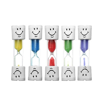AU11.09 • Buy 2/3 Minutes Smiley Hourglass Timer Kids Toothbrush Sand Egg Timer Clock Gift