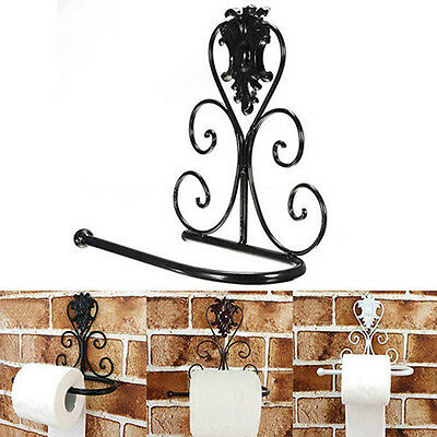 AU14.66 • Buy Vintage Iron Toilet Paper Towel Roll Holder Bathroom Wall Mount Rack Gtau J CRAU