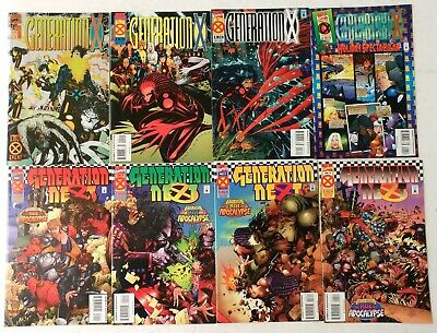 Marvel-Generation X 1,2,3,4-Next 1,2,3,4-Collector's Preview-Ashcan-1st Chamber • 19.59£