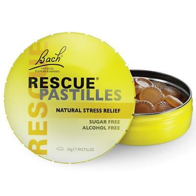Bach Flower Rescue Remedy Pastilles 50g Tin ::Natural Stress Relief:: • 11.53£