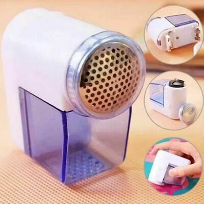 2x ELECTRIC LINT REMOVER Fuzz Off Bobble Fabric Clothes Dust Bubble Shaver Fluff • 5.59£