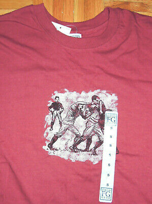 $ CDN32.64 • Buy T Shirt Vintage 90s Marshall Fields Field Gear Rugby Chicago Graphic Small New