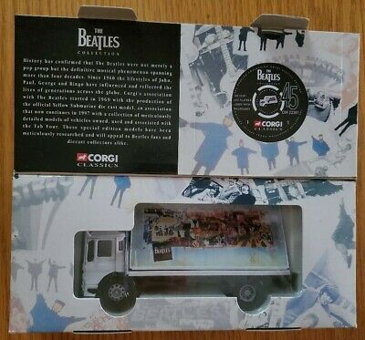 $25 • Buy The Beatles Corgi Classics Billboard Truck New