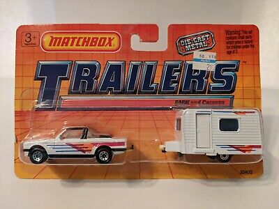 $15 • Buy Matchbox Trailers Set, BMW And Caravan, 1:64, New In Package