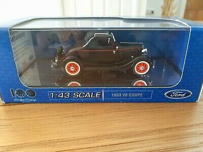 AU40 • Buy Diecast Ford 1933 V8 Coupe Scale 1:43