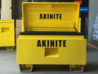 AU259 • Buy Steel Site Box 812MM Wide Heavy Industrial Site Storage Box Job Site Box Ute Box