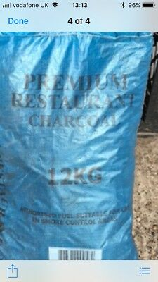 £129 • Buy Catering Bbq Charcoal 10 X 12.0 Kilo Bags Delivery To London Essex Kent Only