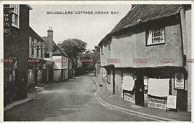 Kent Postcard. Herne Bay, Smugglers' Cottage. Fine Condition! C 1930s • 5£