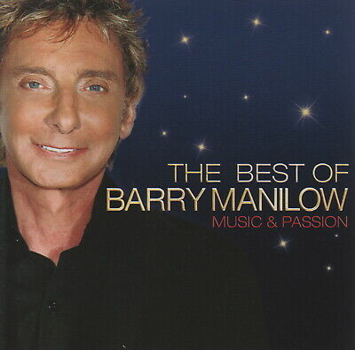 BARRY MANILOW - The Best Of - Music & Passion - CD Album • 2.99£