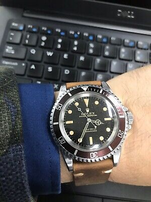 AU45000 • Buy Rolex Submariner 5513 Meters First - Tropical Gilt Dial