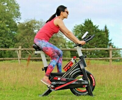 Exercise Bike Spinning Indoor Home Gym Workout Cycling Fitness 8kg Flywheel NEW • 249£