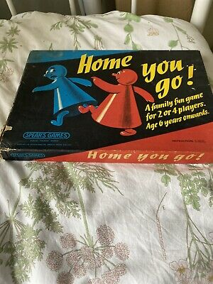 Home You Go! Vintage Classic Family Board Game By Spears Games • 2£