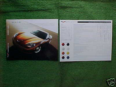 $2.25 • Buy 2008 Corvette Z06 Coupe Convertible Information Facts Card NEW