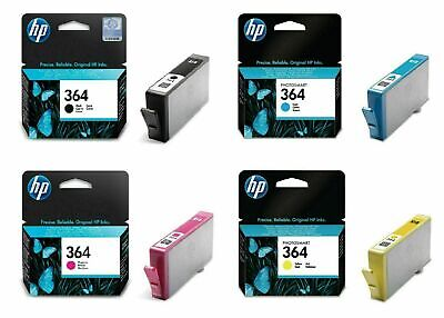 Genuine Colour HP 364 Ink Cartridges CB316E CB317E CB318E CB319E CB320E • 3.25£