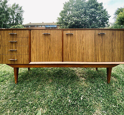 Vintage 1960's Sideboard Teak And Laminate. G Plan Style. Retro. Good Condition. • 0.99£