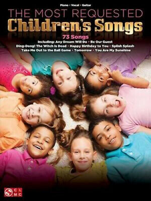 The Most Requested Children's Songs Piano Vocal Guitar Book • 22.31£