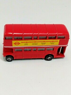 $ CDN9.50 • Buy Diecast Vintage Red Double Decker Toy London Bus Made In China