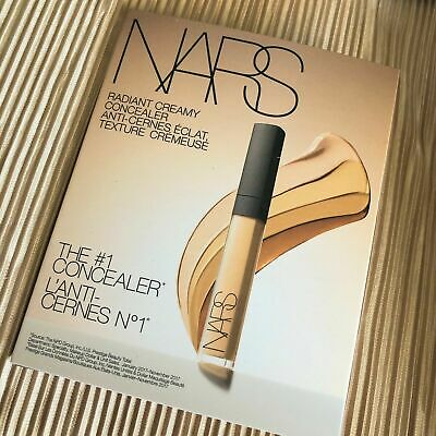 $5 • Buy Nars Radiant Creamy Concealer Sample 4 Shades 0.2ml * 4