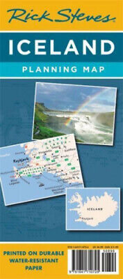 Rick Steves Iceland Planning Map By Steves, Rick • 5.98£