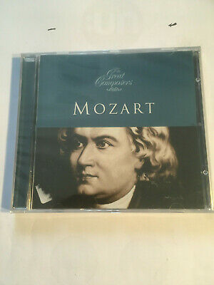 The Great Composers - Mozart Wolfgang Amadeus Mozart NEW CD • 5.05£
