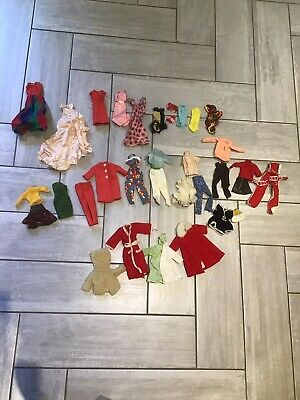 $ CDN23.88 • Buy Vintage Barbie Doll Clothes Lot Tagged Barbie, Hong Kong, Some Home Made