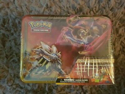 Pokemon Card Spring Sun & Moon Collectors Chest 2017 Sealed  Limited Time Offer • 16.50£