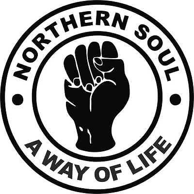 2 X Northern Soul A Way Of Life Car Camper   Window Bumper Scooter Sticker Decal • 1.60£