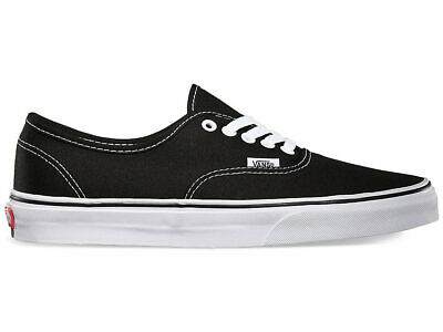 AU79.99 • Buy Vans Authentic Men's Canvas Casual Shoes Black Size 10.5--16