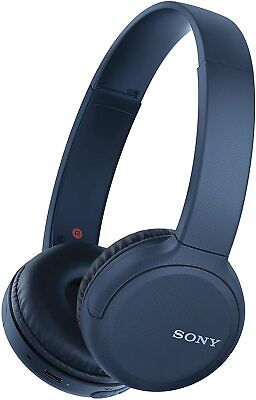 Sony Wireless Bluetooth On Ear Headphones With Built-in Mic + XL Battery - Blue • 39.95£