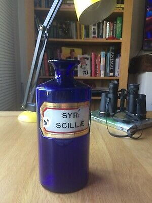 Apothecary Chemist Pharmacy Bottle (SYR: SCILL) • 30£