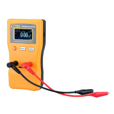 $34.96 • Buy M6013 ESR Capacitor Meter Capacitance Resistance Circuit Tester Test Clips X7O2