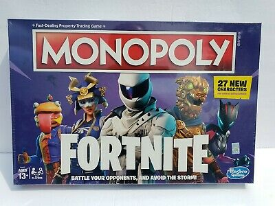 $16.95 • Buy Monopoly: Fortnite Edition Board Game - Newest Edition - 27 New Characters [NEW]
